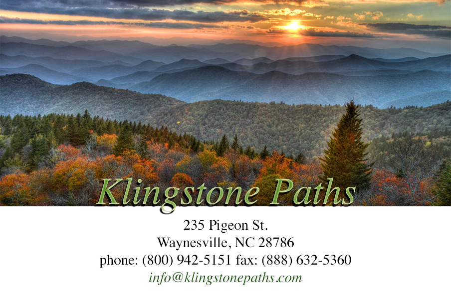 Contact Klingstone Paths